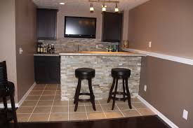 Easy Basement Bar Ideas Refinish Basement Basements Ideas