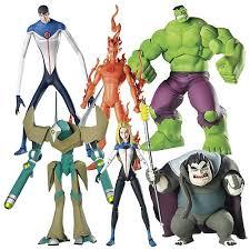fantastic four animated figures series 2 biz fantastic
