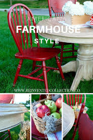 Red Dining Table by Details Red Farmhouse Dining Table French Country Home Decor
