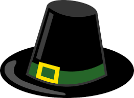 free vector graphic pilgrim hat black thanksgiving free