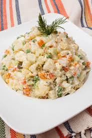 olivier cuisine salad olivier potato salad