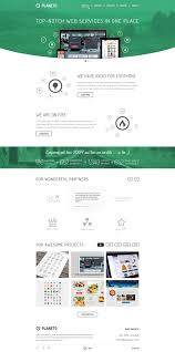 templates for website design free flat psd templates and web elements for ui design freebies