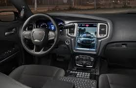 inside of dodge charger 2017 dodge pursuit 12 inch touch screen