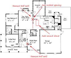 Open Concept Kitchen Floor Plans 7 Keys To Open Concept Floor Plans Custom Home Builder Tips And
