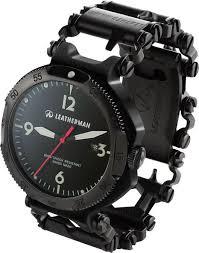 thread bracelet leatherman images Leatherman tread multi tool bracelet and watch in black i 39 d say jpg