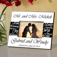 personalized wedding photo frame personalized wedding frames