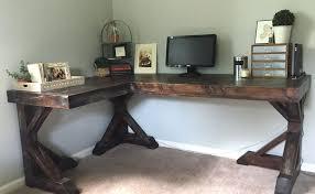 Wooden Corner Desk Top Have Slide Out Drawer For Keyboard by Diy Corner Desk I Love This Dream House Pinterest Desks