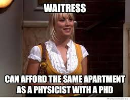 Logic Meme - big bang theory waitress logic meme slapcaption com things that