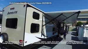 dutchmen aerolite luxury class 292dbhs youtube