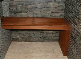 nice teak fold down shower bench pictures inspiration bathtub