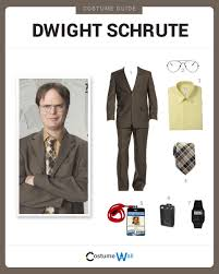 Nerd Look For Halloween by Dress Like Dwight Schrute Costume Halloween And Cosplay Guides