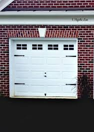 Garage Door Curb Appeal - add instant curb appeal with faux carriage garage doors 11