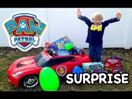 paw patrol power wheels biggest paw patrol power wheels surprise toy video with paw patrol