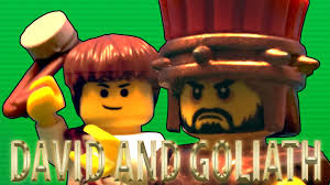 lego david and goliath youtube