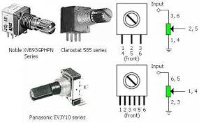 6 pin potentiometer wiring all wiring diagram and wire schematics