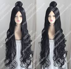 black hair buns for sale free shipping hot sale ghost lights chill daji one meter long