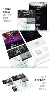 event u2014 creative and modern one page html template for events by