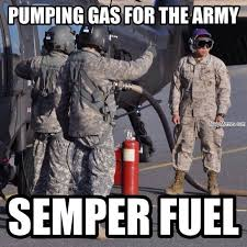 Meme Army - pumping gas for the army navy memes clean mandatory fun