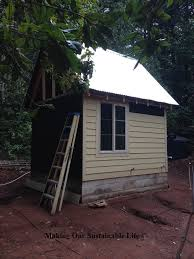 Icf Cabin Off Grid Pump House Making Our Sustainable Life
