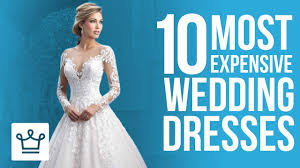 wedding dress in top 10 most expensive wedding dresses in the
