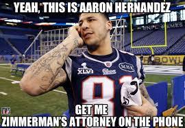 Aaron Hernandez Memes - political memes aaron hernandez reacts to the zimmerman verdict
