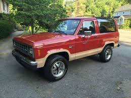 1988 ford bronco ii 4x4 only 77k actual miles 100 original paint