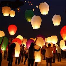 lanterne chinoise mariage aliexpress acheter weigao 5 pcs de vol souhaitant la le