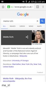 Meme Roth - 30 235 am wwwgooglecouk google meme roth all videos images news