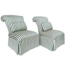 Striped Slipper Chair Small Slipper Chairs 28 For Sale On 1stdibs