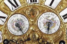 a unique baroque astronomical musical clock le roy a paris 3rd