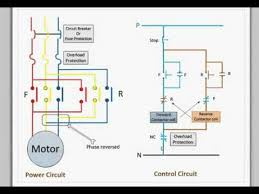 control circuit for forward and reverse motor youtube youtube