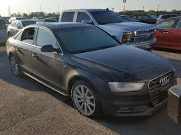 audi a4 vin salvage title 2016 audi a4 sedan 4d 2 0l 4 for sale in montgomery