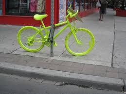 lila prime spraypainted bikes