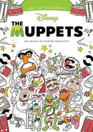 coloring book review muppets art coloring