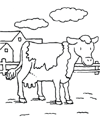 cow silhouette stencil printable coloring pages flowers christmas