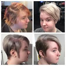 before and after hair transformation women u0027s undercut women u0027s
