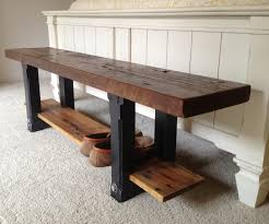 solid wood kitchen furniture bench oak wood bench solid oak chunky rustic indoor wooden