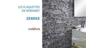 Pierre De Parement Grise by Plaquette De Parement Zebree Colours 679490 Castorama Youtube