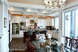 Kitchen Furniture Vancouver Chef U0027s Dream U2013 White Kitchen With Marble And Granite