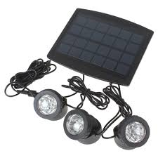 solar bright lights outdoor high quality 3 x 6 rgb color leds solar powered super bright ls