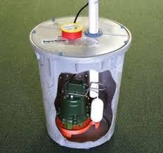 Basement Water Pump by Supersump Sump Pump System Basement Waterproofing
