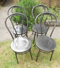 Patio Steel Chairs by Garden Or Patio Steel Chairs Thonet Bentwood Style 40 A Pair