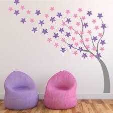 windy flower tree wall vinyl by wallboss wallboss wall stickers blossom flower tree wall sticker