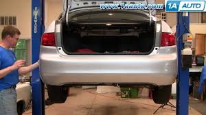 how to install replace rear bumper cover honda accord 04 07 1aauto