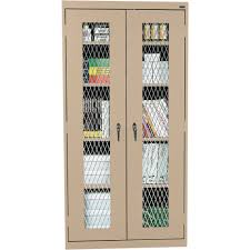 Steel Storage Cabinets Sandusky Lee Welded Steel Storage Cabinet U2014 Expanded Metal Front