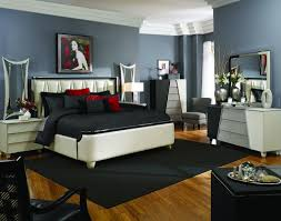 Michael Amini Bedroom by Amini Beverly Blvd Pearl Caviar Bedroom Furniture Set By Aico