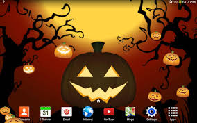 halloween pumpkin live wp android apps on google play
