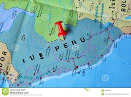 Peru On Map Lima On Peru Map Royalty Free Stock Photos Image 3106058
