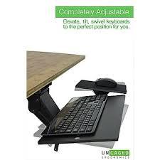 Under Desk Laptop Shelf Keyboard Tray Under Desks