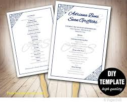 best wedding programs awesome etsy wedding program template free template 2018free
